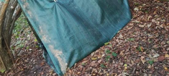 Nastolatkowie uciekli z domu w Bieszczady. Obozowali pod Jaworem