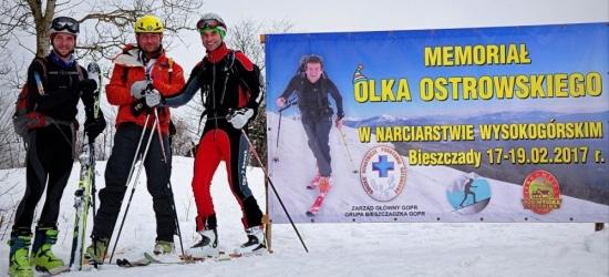 BIESZCZADY: Memoriał Olka Ostrowskiego. Narciarze wysokogórscy uczczą pamieć ratownika GOPR