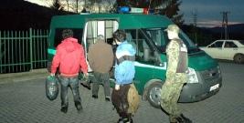 Nielegalni imigranci zatrzymani w Krościenku