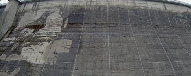 Ustrzycki portal informacyjny najwi kszy for Mural na tamie w solinie