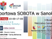 MOSIR SANOK: Sportowa sobota w Sanoku